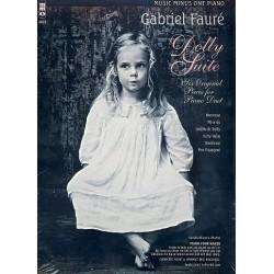 Fauré, Gabriel Urbain: Dolly Suite op.56 (+CD) : for piano 4 hands score