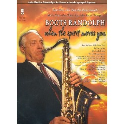 Boots Randolph - When the Spirit moves You (+CD) : for saxophone (trumpet)