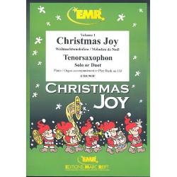 Christmas Joy : für 1-2 Tenorsaxophone und Klavier Stimmen