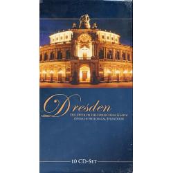 Dresden - Die Oper in historischem Glanz : 10 CD-Box (Booklet dt/en)