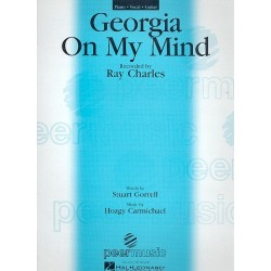 Carmichael, Howard Hoagland (Hoagy): Giorgia on my Mind : for piano/vocal/guitar
