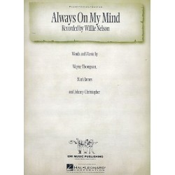 Thompson, Wayne: Always on my Mind : for piano/vocal/guitar