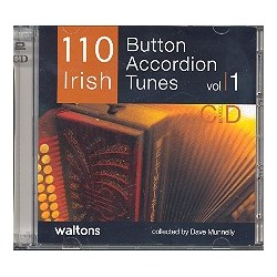 110 Irish Button Accordeon Tunes vol.1 : 2 CD's