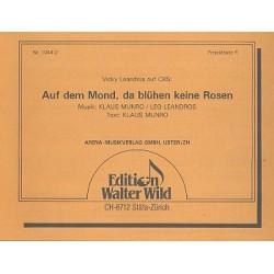 Munro, Klaus: Auf dem Mond da bl├╝hen keine Rosen : f├╝r diatonische Handharmonika