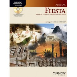 Fiesta (+CD) : for alto saxophone