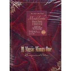 Mendelssohn-Bartholdy, Felix: Piano Trios op.49 and op.66 (+2 CD's) : printed violin part
