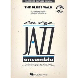 Brown, Clifford: The Blues Walk : for jazz ensemble score and psrts