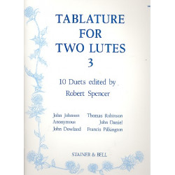 Tablature vol.3 : for 2 lutes parts
