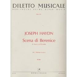 Haydn, Franz Joseph: Scena di Berenice Hob.XXIVA:10 : für Sopran und Orchester Partitur
