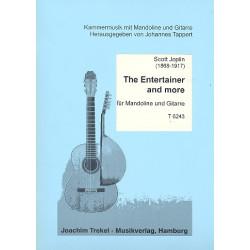 Joplin, Scott: The Entertainer and more : für Mandoline und Gitarre Partitur und Stimmen