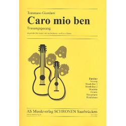 Giordani, Tommaso: Caro mio ben für Sopran und Zupforchester Partitur