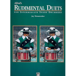 Wanamaker, Jay: Rudimental Duets : for 2 snare drums score