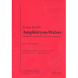 Doelle, Franz: Amphitryon-Walzer : f├╝r Salonorchester Direktion und Stimmen