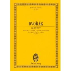 Dvorák, Antonín: Quintett A-Dur op.81 : für Klavier und Streichquartett Studienpartitur