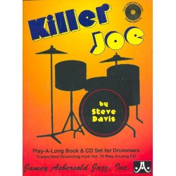 Davis, Steve: Killer Joe - transcribed from vol.70 (+CD) : for drum set