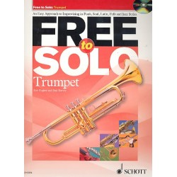 Hughes, Rob: Free to solo (+CD): for trumpet