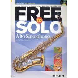 Hughes, Rob: Free to solo (+CD): for alto saxophone