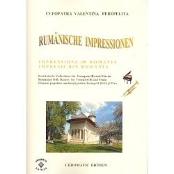 Perepelita, Cleopatra Valentina: Rumänische Impressionen : für Trompete und Klavier