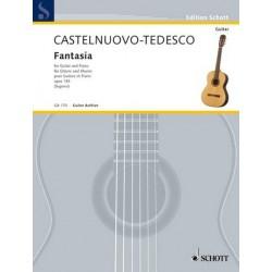 Castelnuovo-Tedesco, Mario: Fantasie op.145 : für Gitarre und Klavier