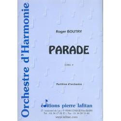 Boutry, Roger: Parade : pour orchestre d'harmonie partition