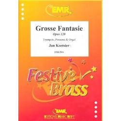 Koetsier, Jan: Große Fantasie op.120 : für Trompete, Posaune und Orgel Stimmen