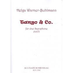 Warner-Buhlmann, Helga: Tango und Co : für 3 Saxophone (AAT) Partitur und Stimmen