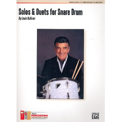 Bellson, Louie: Solos and Duets : for snare drum score