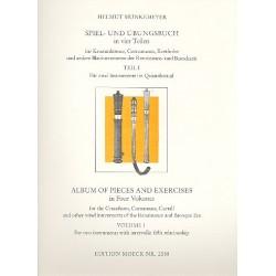 M├Ânkemeyer, Helmut: Spiel und ├£bungsbuch Band 1 : f├╝r 2 Instrumente im Oktavabstand Spielpartitur
