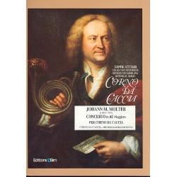 Molter, Johann Melchior: Konzert D-Dur : f├╝r Corno da caccia und Streichorchester Partitur