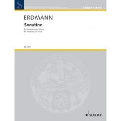 Erdmann, Dietrich: SONATINE : FUER MANDOLINE UND KLAVIER