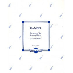 Händel, Georg Friedrich: Entrance of the Queen of Sheba : for 2 violas and piano parts
