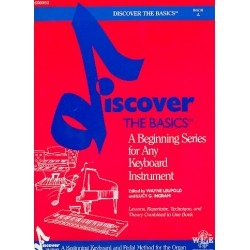 Discover the Basics Book A for any keyboard instrument