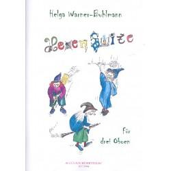 Warner-Buhlmann, Helga: Hexensuite für 3 Oboen Partitur und Stimmen