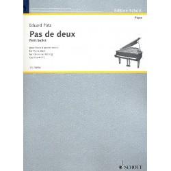 Pütz, Eduard: Pas de deux : für Klavier zu 4 Händen Spielpartitur