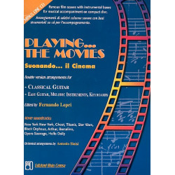Playing the Movies (+CD) : for guitar