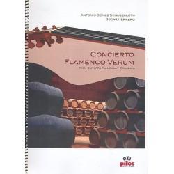 Gómez Schneekloth, Antonio: Concierto Flamenco verum : para guitarra flamenca y orquesta partitura