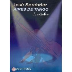 Serebrier, José: Aires de Tango : for violin