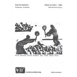 Visée, Robert de: Suite : für 1-2 Hackbretter Partitur und Stimme
