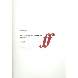 Jenkins, John: Consort Music for 4 viols (organ ad lib) parts, archive copy