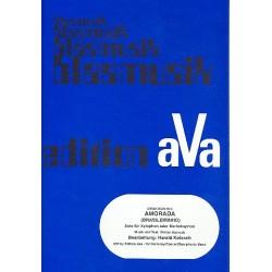 Azevedo, Waldyr: Amorada : für Xylophon (Marimbaphon) und Blasorchester Partitur und Stimmen