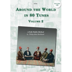 Berthoud, Philip John: Around the World in 80 Tunes vol.2 (+CD): for fiddle