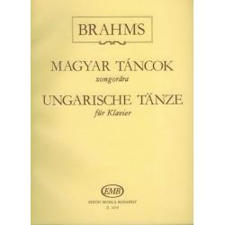 Brahms, Johannes: Ungarische Tänze : für Klavier