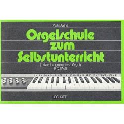 Draths, Willi: Orgelschule zum Selbstunterricht : für akkordprogrammierte Orgel