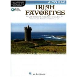 Irish Favorites (+CD) : for alto saxophone