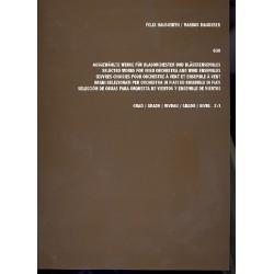 Hauswirth, Felix: 600 ausgewählte Werke für Blasorchester und Bläserensembles Grad 2-3