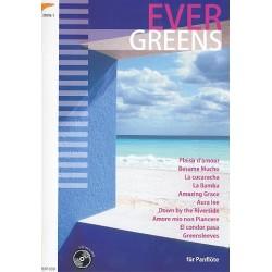 Evergreens (+CD) : für Panflöte