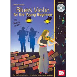 Laster, Marty: Blues Violin for the young Beginner (+CD)