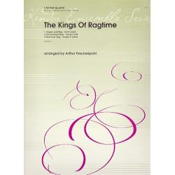The Kings of Ragtime : f├╝r 3 Klarinetten und Bassklarinette Partitur und Stimmen