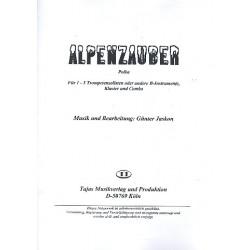 Jaskon, Günter: Alpenzauber: für 1-3 Trompeten (B-Instrumente), Klavier und Combo Stimmen