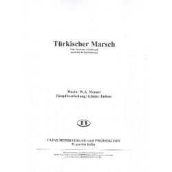 Mozart, Wolfgang Amadeus: T├╝rkischer Marsch : f├╝r Klavier (B-Instrumente) und Salonorchester Stimmen